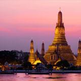Hoelang is het vliegen naar Bangkok